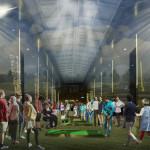 """Пространство Аркады прекрасно подойдет для небольших спортивных мероприятий и соревнований. Мини-гольф, шахматный турнир, арм-реслинг, чемпионат по играм в """"городки"""". А видеопроекции помогут создать подходящую атмосферу."""